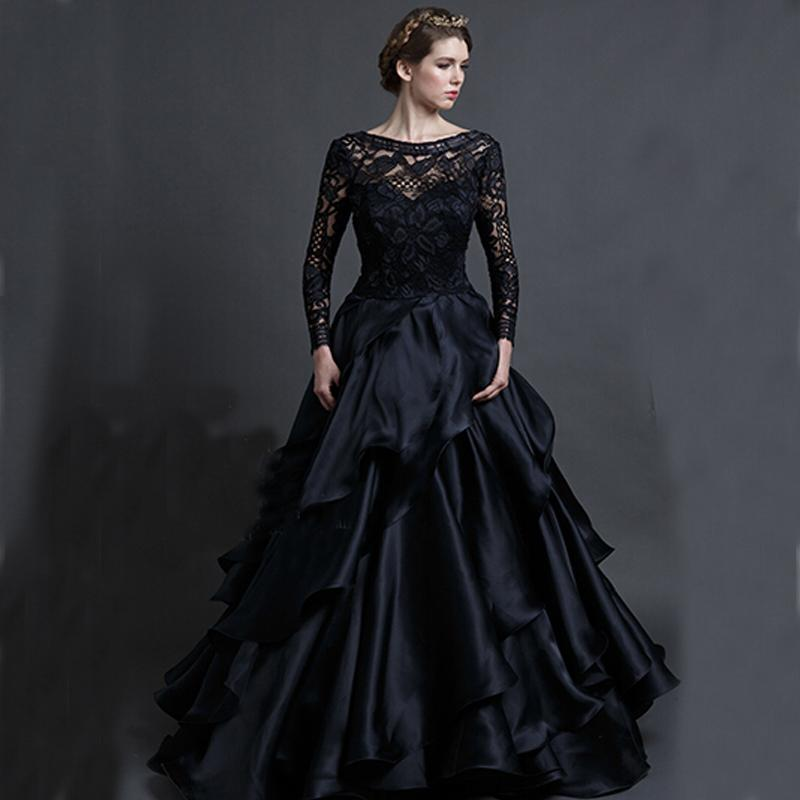 Black Wedding Gowns: A Rose Of A Different Color Black Wedding Dresses
